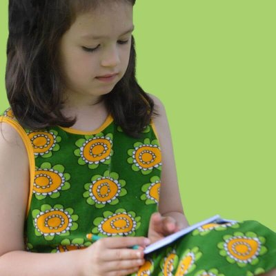 CHILDREN'S SLEEVELESS DRESSES