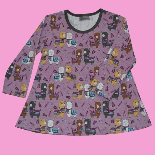 Tunic, Generous Fit For Kids, alpacas