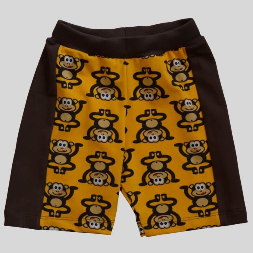 Shorts, monkeys yellow