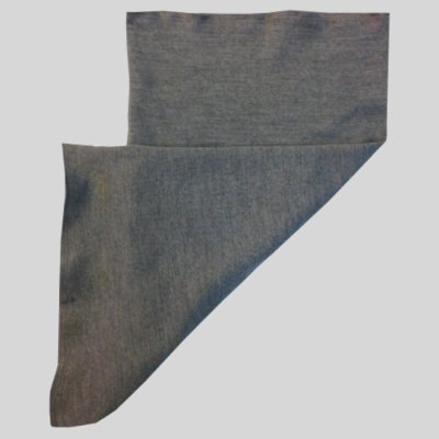 Tube Bandana, light grey merinowool
