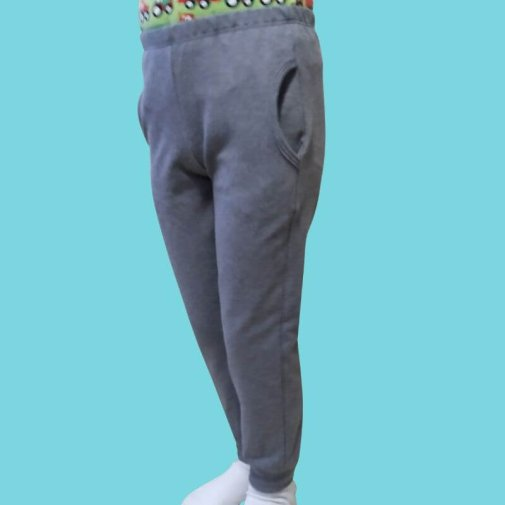 Pocketpants, college, grey