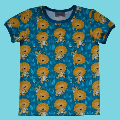 Short Sleeve Shirt, little lions