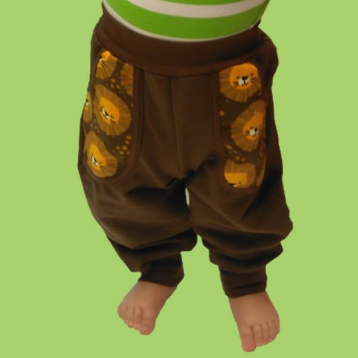 Pocket Pants, brown / lion