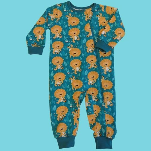 Baby Jumpsuit, little lions