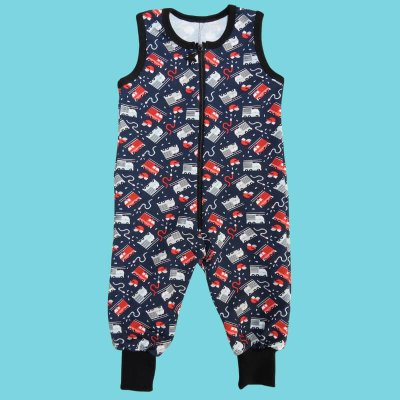 Overall Pants, fire truck blue