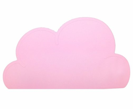 Placemat, cloud, pink