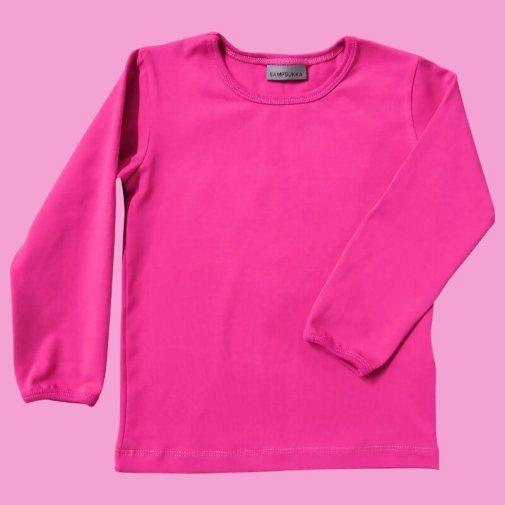 Long Sleeve Shirt, jersey, pink
