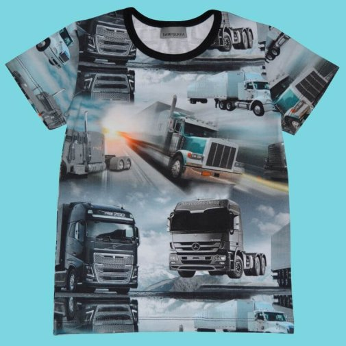 Short Sleeve Shirt, lorry