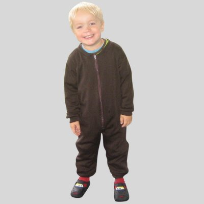 Merinowool coverall, brown