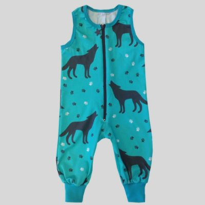 Overall Pants, wolf mint